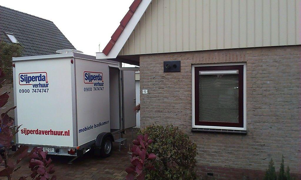 Nieuw bij Sijperda Verhuur --> mobiele badkamer!